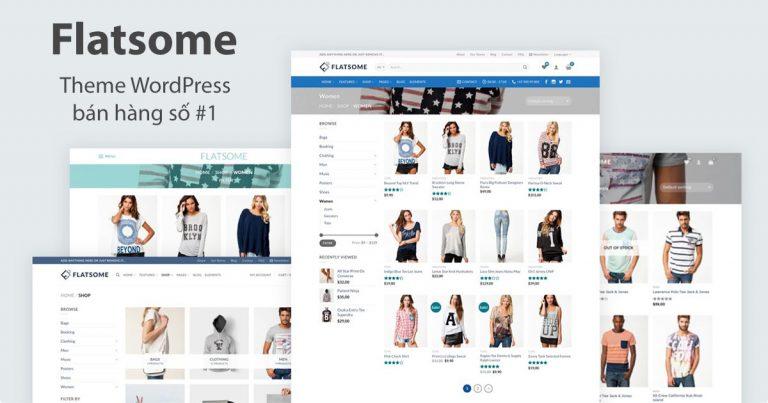 theme website bán hàng