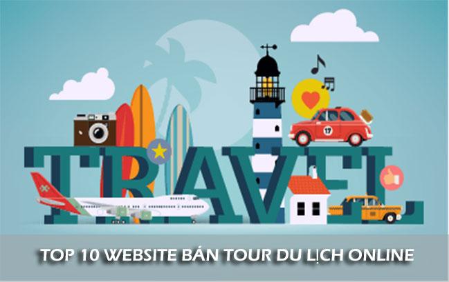 Top 10 trang bán tour du lịch