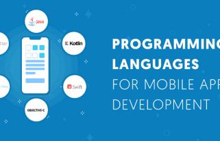 top ngôn ngữ lập trình mobile app