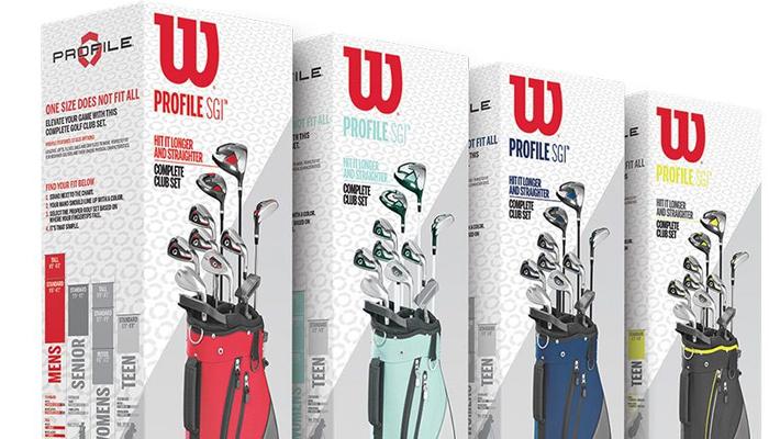 Bộ gậy đánh golf - Wilson SGI Profile